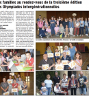 LES OLYMPIADES INTERGENERATIONNELLES 2016