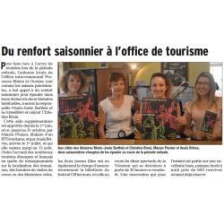 Du renfort saisonnier a l 39 office de tourisme - Office de tourisme chateauneuf du pape ...