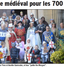 union en costume médiéval !