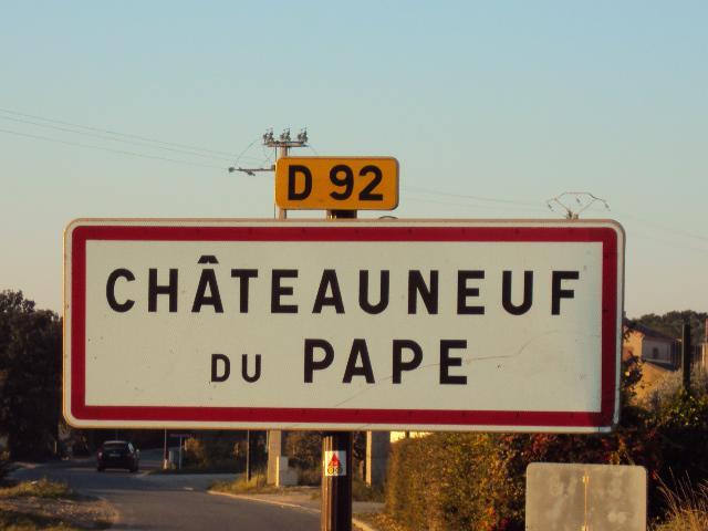 J'emménage à Châteauneuf-du-Pape